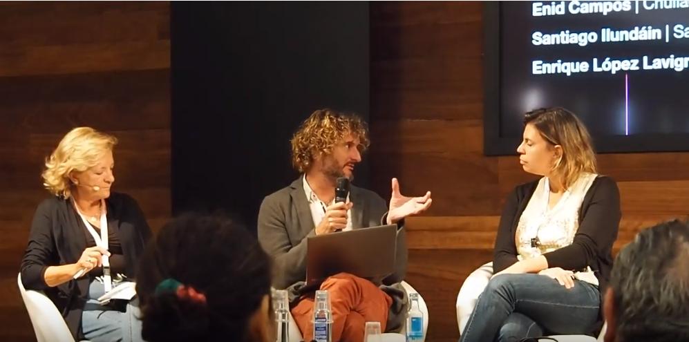 Santiago Ilundáin analiza los contratos de coproducción en el Festival de Cine de San Sebastián