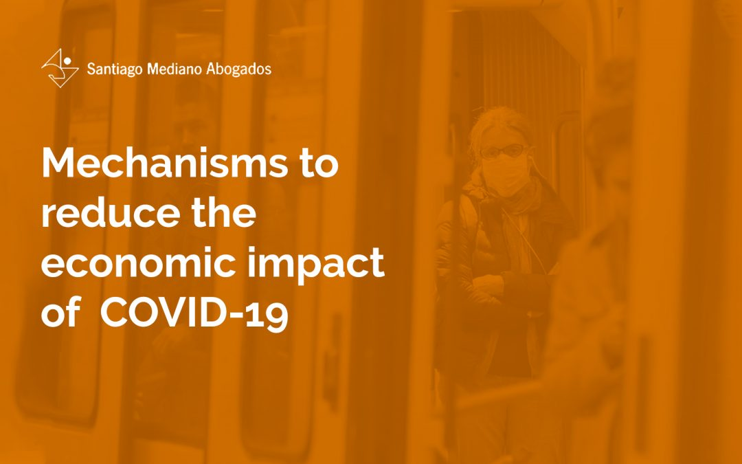 Mechanisms to reduce the economic impact of  COVID-19